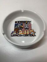 Kennedy Space Centre China Collectable Vintage Ceramic Ashtray Ash Tray VGC RARE