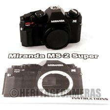Compact Auto and Manual Exposure 35mm Film SLR Camera Body for Pentax K M Lenses