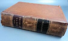 19th Century Book Poets of Maine 1888 with Biographical Sketches