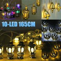 Eid Mubarak 10 LED Light String Fairy Ramadan Muslim Islam Decor Home Party Lamp