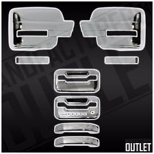 2009-2014 Ford F-150 Extended/Regular Cab 2dr Door Handles Mirror Cover Trim