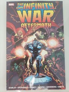 THE INFINITY WAR AFTERMATH TPB COLLECTION 2015 SILVER SURFER! BRAND NEW UNREAD