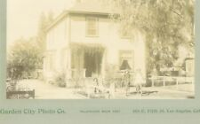 c1890 Albumen Mounted Photo Pasadena House Marengo Ave.
