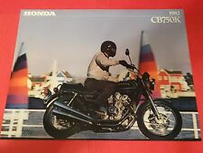 1982 Honda CB750 K Motorcycle Sales Brochure - Literature