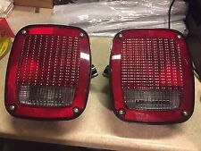2 Grote 5370 5371 Left and Right Tail Lights Camper Trailer RV Take Offs