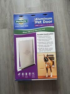 PETSAFE FREEDOM® ALUMINUM PET DOOR LARGE NEW IN BOX