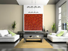 Huge art painting   aboriginal By Jane Australia Modern oil signed wall decor