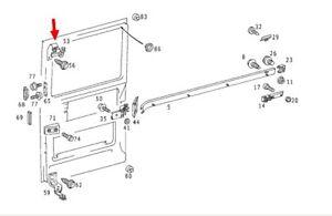 DODGE MERCEDES Sprinter van 1995-06 sliding door upper roller assembly