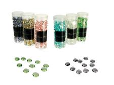 Glasnuggets Glassteine Muggelsteine Streudeko Tischdeko  ca. 2cm Durchmesser