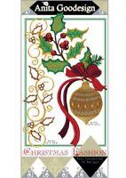 Christmas Fashion Anita Goodesign Embroidery Machine Design CD NEW