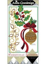 Christmas Fashion Anita Goodesign Embroidery Machine Design CD NEW