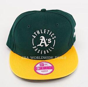 New Victoria's Secret PINK New Era 9FIFTY Oakland Athletics Women's Snapback Hat