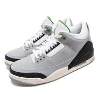 Nike Air Jordan 3 Retro Chlorophyll Tinker Smoke Grey Black Green 136064-006