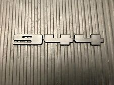 1983 - 1991 Porsche 944 Base Rear Emblem Black PN#944.559.193.00