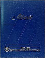 Original 1987-1988 Cadillac Allante Shop Manual 87-88 OEM Repair Service Book