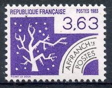 STAMP / TIMBRE FRANCE NEUF PREOBLITERE N° 181 ** LES QUATRE SAISONS / HIVER