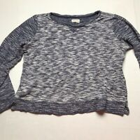 Lou & Grey Blue Long Sleeve Top Size Large a480