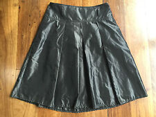 Jacqui E classy A-line textured skirt - size 8 - NWOT