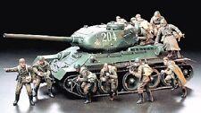 Tamiya America [TAM] 1/35 Russian Army Assault Infantry Plastic Model Kit 35207