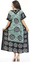 New Casual Long Kaftan dress Hippy Boho Maxi, One Size Women Caftan Top Dress