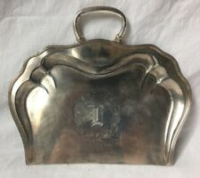 Forbes Quadruple Silverplate Crumb Catcher Dust Pan Silent Butler