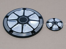 fit harley Edge Cut derby timer cover softail dyna touring electra Street glide