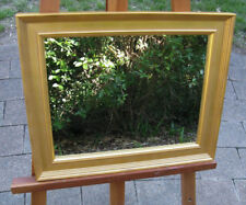 Decorative Wall Mirror Gold Dust Traditional Profile Wood Frame 50cm x 41cm