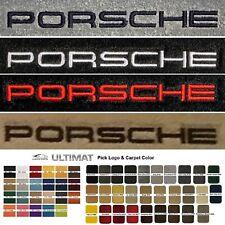 Lloyd Mats Porsche Cayenne Custom Embroidered Porsche Floor Mats (2003 & Up)