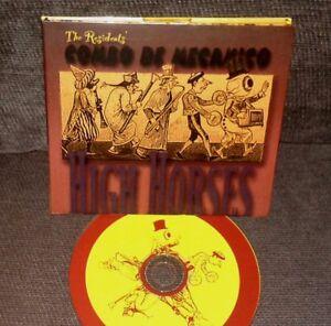 THE RESIDENTS HARDY FOX COMBO DE MECANIO High Horses CD Ralph RA 11 Ltd Numbered