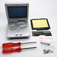 New Shell Housing Replacement Nintendo Gameboy Advance SP GBA SP Console Silver
