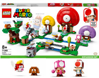 LEGO Super Mario 71368 Toad's Treasure Hunt Expansion Set 5 Figures Age 8+