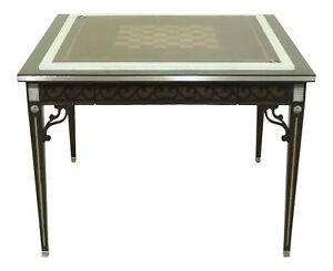 L50405EC: MAITLAND SMITH 8298-31 Square Reversible Top Games Table ~ NEW