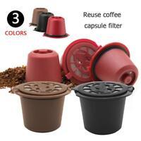 Wiederverwendbar Nachfüllung Kaffee Kapsel Filter Gehäuse für Nespresso Maschine