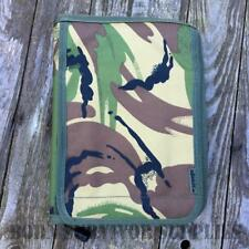 DPM A5 FOLDER - Notebook Notepad Holder Cover Pouch British Army Camo Map Case