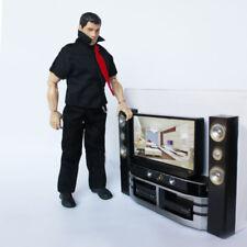 Mini House Furniture Hi-Fi 1:6 TV Home Theater Set For Barbie Doll Accessory