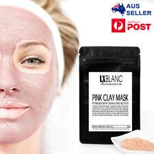 Pink Clay Dry Face Mask | Bentonite, Dragons Blood, Kukui Nut, Madder Root | AU