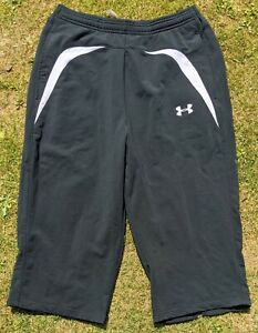 Under Armour Large running exercise gym fitness 3/4 length leggings shorts