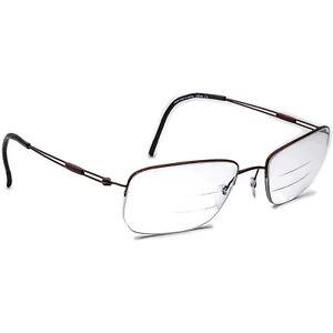 Silhouette Eyeglasses 5279 40 6064 Titan Brown Half Rim Frame Austria 54[]18 140