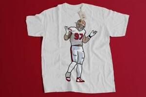 San Francisco 49ers T-Shirt Nick Bosa Shrug Funny White Vintage Gift Men Women