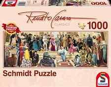 SCHMIDT PANORAMA PUZZLE 100 YEARS OF FILM HISTORY RENATO CASARO 1000 PCS #59381