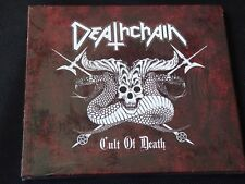 Deathchain - Cult of Death (NEW CD) NECROMICON TROLLHEIM'S GROTT DEMONIC CHRIST
