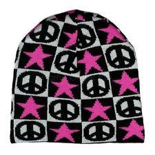 Peace Signs/Symbols Beanie Knit Skull Cap Warm Winter Ski Snow Board Toque Tuque