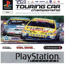 Toca Touring Cars Sony Playstation PS1 Game Excellent Boxed with Manual
