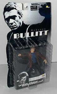 2002 Mirage STEVE McQUEEN as FRANK BULLITT Figure – RARE – Brand New!!!