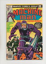 Machine Man #1 - Jack Kirby Story & Art - (Grade 7.5) 1978