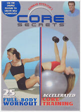 CORE SECRETS FULL BODY WORKOUT/ACCELERATED CORE TRAINING (DVD,2003)