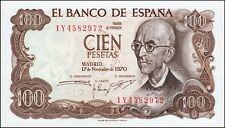 España 1970, 100 Pts Manuel de Falla * (VF)