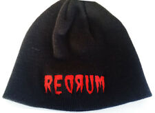 Redrum Beanie Hat Low Profile Embroidered