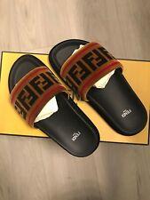 Fendi Velvet Slides Size 37.5