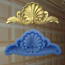 Gießformen Verzierung Silikonformen Gips Ornament Relief Deckenverzierung  (196)
